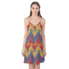Aztec South American Pattern Zig Zag Camis Nightgown