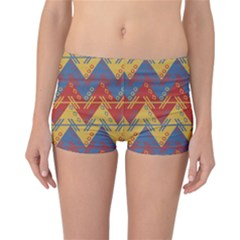 Aztec South American Pattern Zig Zag Reversible Bikini Bottoms