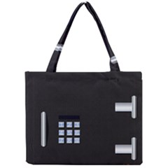 Safe Vault Strong Box Lock Safety Mini Tote Bag