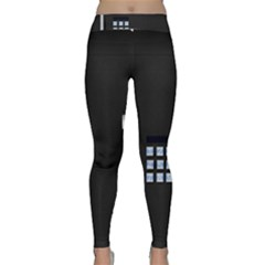 Safe Vault Strong Box Lock Safety Classic Yoga Leggings