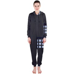 Safe Vault Strong Box Lock Safety Hooded Jumpsuit (ladies)