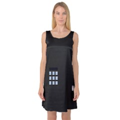 Safe Vault Strong Box Lock Safety Sleeveless Satin Nightdress