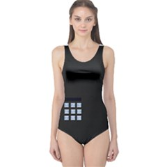 Safe Vault Strong Box Lock Safety One Piece Swimsuit