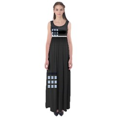 Safe Vault Strong Box Lock Safety Empire Waist Maxi Dress