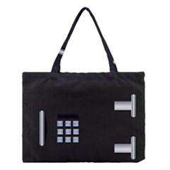 Safe Vault Strong Box Lock Safety Medium Tote Bag