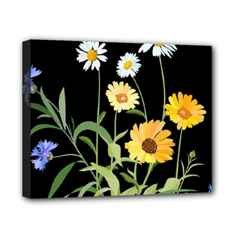 Flowers Of The Field Canvas 10  x 8