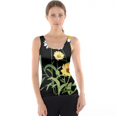 Flowers Of The Field Tank Top
