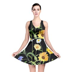 Flowers Of The Field Reversible Skater Dress