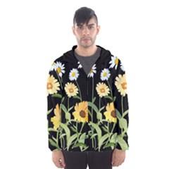 Flowers Of The Field Hooded Wind Breaker (Men)