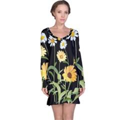 Flowers Of The Field Long Sleeve Nightdress