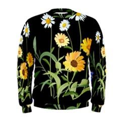Flowers Of The Field Men s Sweatshirt