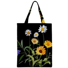 Flowers Of The Field Zipper Classic Tote Bag