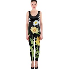 Flowers Of The Field Onepiece Catsuit
