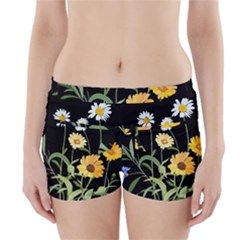 Flowers Of The Field Boyleg Bikini Wrap Bottoms