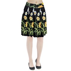 Flowers Of The Field Pleated Skirt