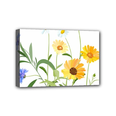 Flowers Flower Of The Field Mini Canvas 6  x 4