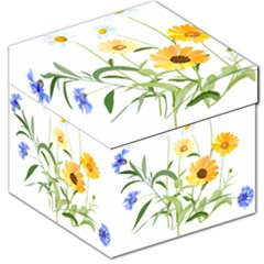 Flowers Flower Of The Field Storage Stool 12