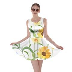 Flowers Flower Of The Field Skater Dress