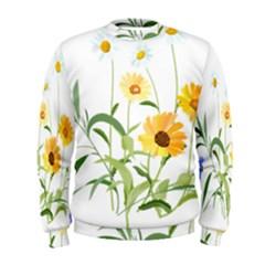 Flowers Flower Of The Field Men s Sweatshirt