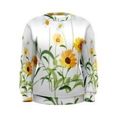 Flowers Flower Of The Field Women s Sweatshirt