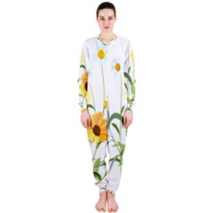 Flowers Flower Of The Field OnePiece Jumpsuit (Ladies)