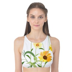 Flowers Flower Of The Field Tank Bikini Top