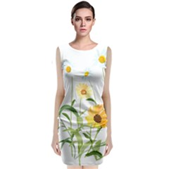 Flowers Flower Of The Field Classic Sleeveless Midi Dress