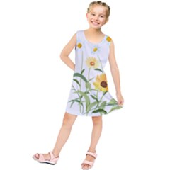 Flowers Flower Of The Field Kids  Tunic Dress