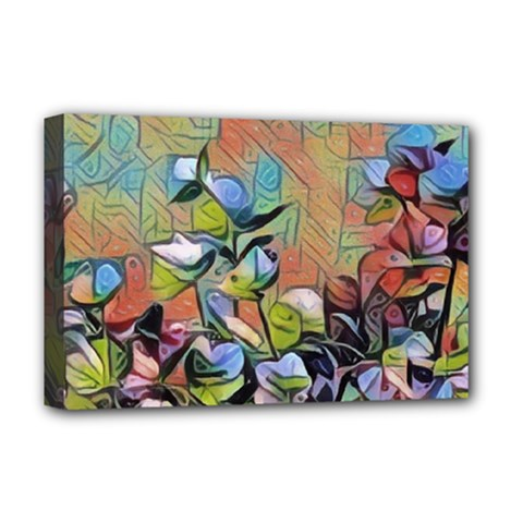 Spring Flowers Magic Cube Deluxe Canvas 18  x 12