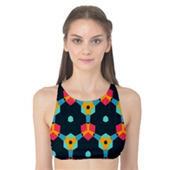 Connected shapes pattern          Tank Bikini Top