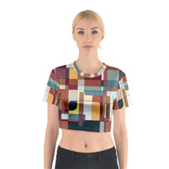 Patchwork Cotton Crop Top