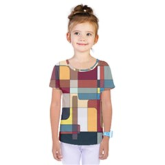Patchwork Kids  One Piece Tee