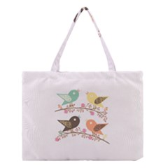 Four Birds Medium Tote Bag
