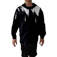 Abstraction Hooded Wind Breaker (Kids)