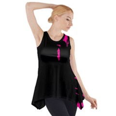 Abstraction Side Drop Tank Tunic