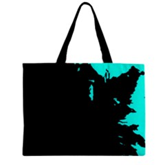 Abstraction Zipper Mini Tote Bag