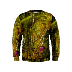 Dragonfly Dragonfly Wing Insect Kids  Sweatshirt