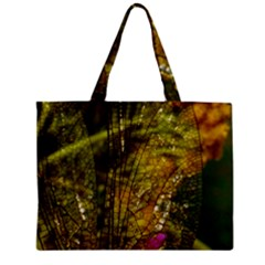 Dragonfly Dragonfly Wing Insect Zipper Mini Tote Bag