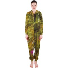 Dragonfly Dragonfly Wing Insect Hooded Jumpsuit (ladies)