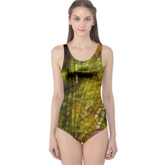 Dragonfly Dragonfly Wing Insect One Piece Swimsuit