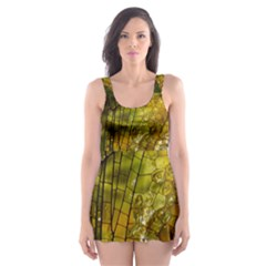 Dragonfly Dragonfly Wing Insect Skater Dress Swimsuit
