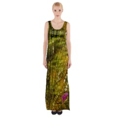 Dragonfly Dragonfly Wing Insect Maxi Thigh Split Dress