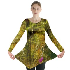 Dragonfly Dragonfly Wing Insect Long Sleeve Tunic