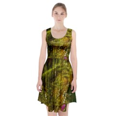 Dragonfly Dragonfly Wing Insect Racerback Midi Dress