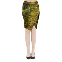 Dragonfly Dragonfly Wing Insect Midi Wrap Pencil Skirt