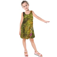 Dragonfly Dragonfly Wing Insect Kids  Sleeveless Dress
