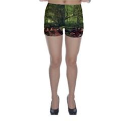 Red Deer Deer Roe Deer Antler Skinny Shorts