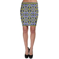 Tiles Panel Decorative Decoration Bodycon Skirt