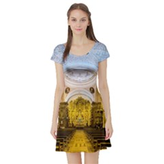 Church The Worship Quito Ecuador Short Sleeve Skater Dress