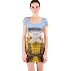 Church The Worship Quito Ecuador Short Sleeve Bodycon Dress